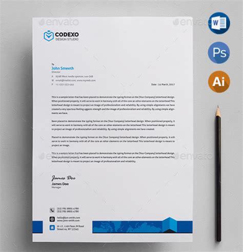 letterhead templates xdesigns
