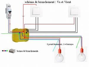 Branchement D Un Va Et Vient : installation lectrique le circuit lumi re leboisd liza ~ Carolinahurricanesstore.com Idées de Décoration