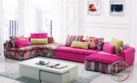 buntes sofa u best colorful fabric sectional sofa set fashion living room section sofa modern sofa in