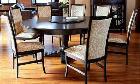 round dining room tables for 8 15 best ideas of round design dining room tables sets