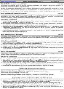 Procurement Analyst Resume Exle by Resume In Logistics And Supply Chain Management Sales