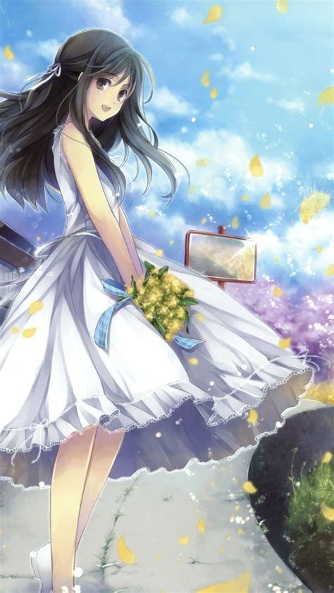 anime fantasy romance indo romantic anime girl wallpaper for iphone 5