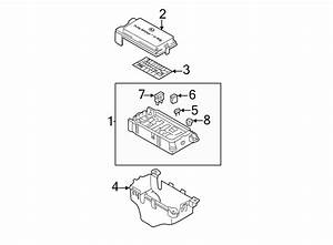 Kia Sedona Fuse Box Cover  Lower