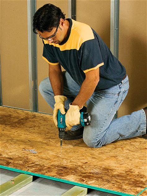 Framing Sleeper Floors   Preparing the Floor   Flooring