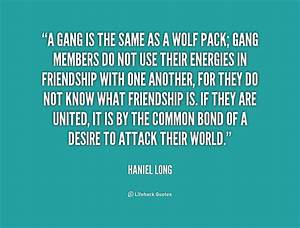 Gang Leader Quo... Blood Gang Life Quotes