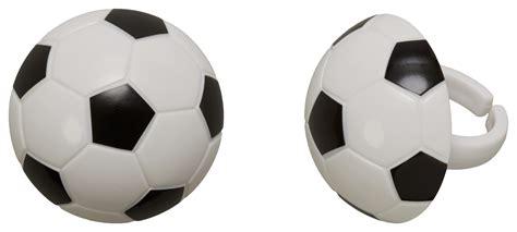 soccer ball cupcake rings decopac