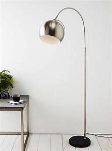 Threshold arc floor lamp cool floor lamps for Threshold floor lamp metal shade