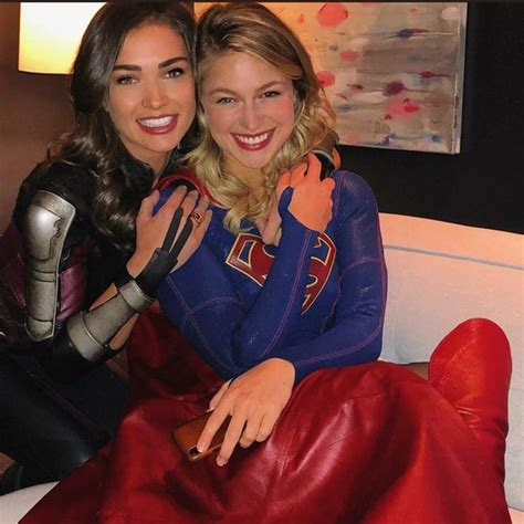 melissa  amy ig   supergirl tv supergirl