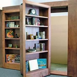 Bibliothèque Avec Porte : biblioth que avec une porte cach e geek ~ Teatrodelosmanantiales.com Idées de Décoration