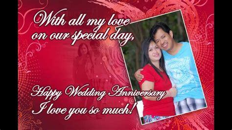 happy wedding anniversary song youtube
