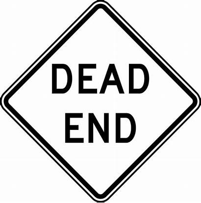 Dead End Clipart Sign Road Street W14