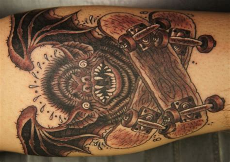 skateboard tattoos designs ideas  meaning tattoos