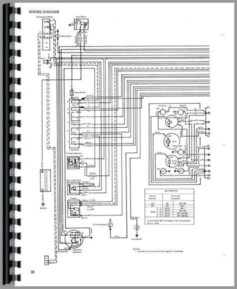 Mf 282 Wiring Diagram by Ih 706 Hydraulic Diagram Wiring Diagram