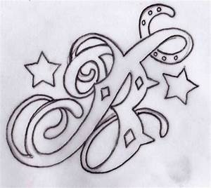 Tattoo Design Letters B - Best Home Decorating Ideas