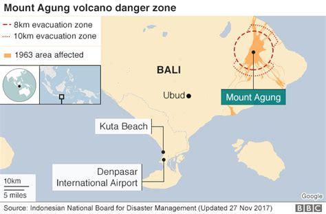 commonsense  mount agung bali volcano alert