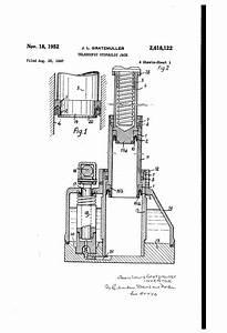 Patent Us2618122 - Telescopic Hydraulic Jack
