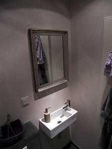 Aufsatzwaschbecken Gäste Wc Klein : g ste wc mit schiefer fliesen bad 017 b der dunkelmann ~ Indierocktalk.com Haus und Dekorationen