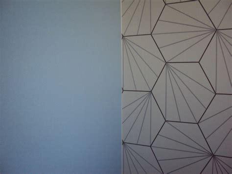 coupon papier peint 52cmx20cm motifs g 233 om 233 trique