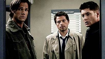 Dean Sam Castiel Supernatural Team Winchester Cas