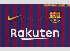 Revealed Barcelona's new home shirt for the 201819 season