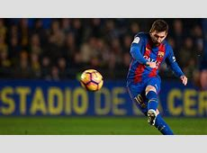 Lionel Messi equals Ronald Koeman's Barcelona freekick