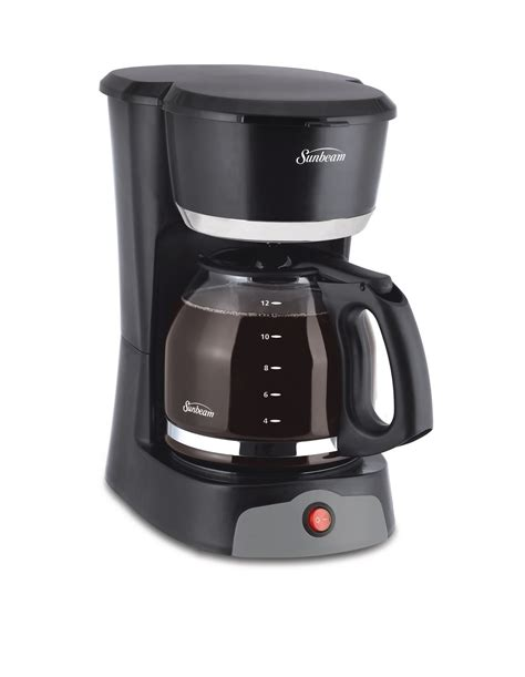That said, did you know that walmart has a huge amount of coffee makers both in store, as well as online? Sunbeam 12 Cup Black Switch Coffee Maker | Walmart Canada