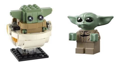 Two different versions of LEGO Baby Yoda are on the way ...