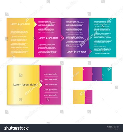 brochure booklet cover template vector  business