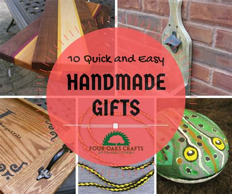 quick  easy handmade gift ideas