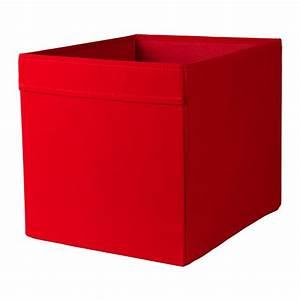 DRÖNA Box Red 33x38x33 cm - IKEA