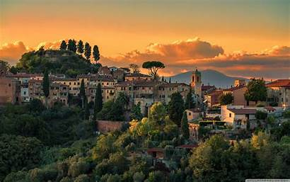 Tuscany Italy Desktop 4k Wallpapers Villages Ultra