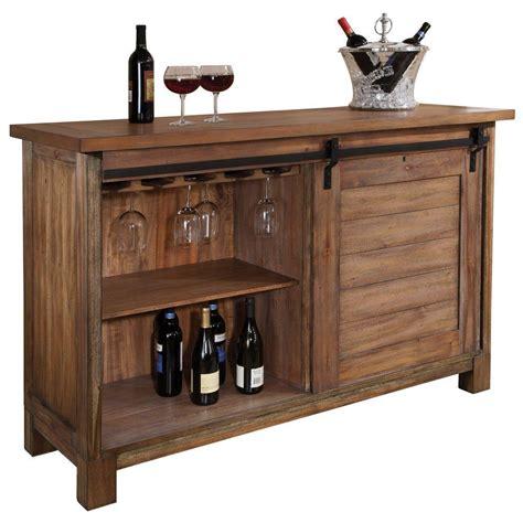 howard miller homestead wine bar console   troy