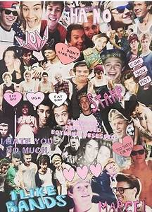 One direction and 5sos collage | One direction | Pinterest ...