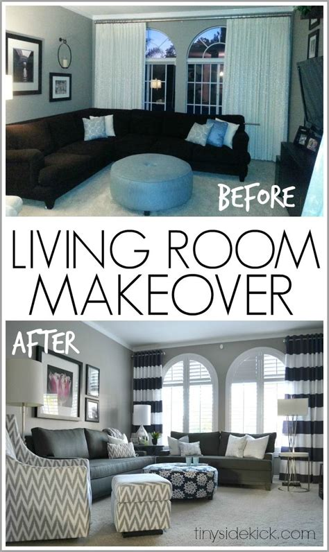 bold  bright living room makeover