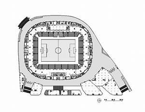 Wilmotte Et Associés : plan niveau parvis stade de football allianz riviera ~ Voncanada.com Idées de Décoration
