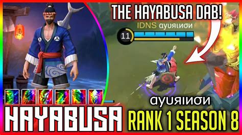 Top 1 Hayabusa `season 7` [αуυяιиσи] Mobile Legends Build