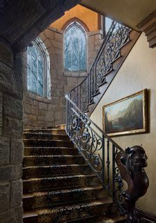 Gothic Castle in the Blue Ridge Mountains   Traditional