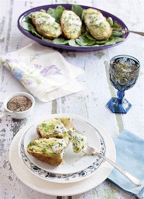 air potatoes vegan fried fryer twice stuffed idaho recipe recipes food healthy oven easy cookbook baked diet based plant print