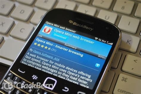 opera mini web browser now available in blackberry app world crackberry