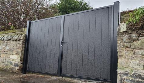 metal framed composite garden gates archives gates automation direct