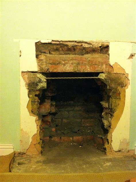 Fireplace Opening  Searching For The Lintel Stove