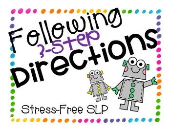 step directions  stress  slp tpt