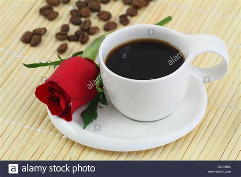 Cup Of Black Coffee And Red Rose Stock Photo Coffee Grinders Ebay Uk For Espresso Reviews Calgary Grinder New York Times Break Radio Lingua Jacksonville Fl Meeting To Buy