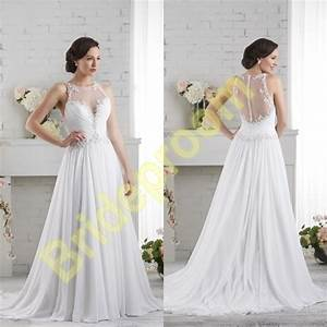wedding dresssheer back bridal gownslace wedding gowns With luulla wedding dresses