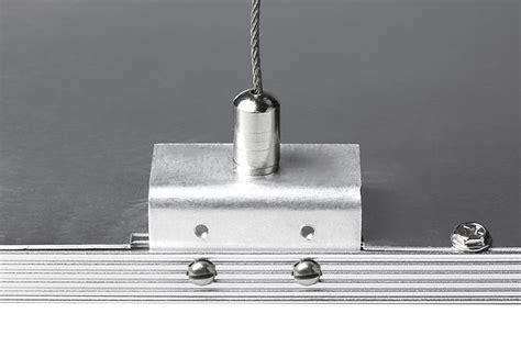 led panel light suspension kit mounting hardware for 50w