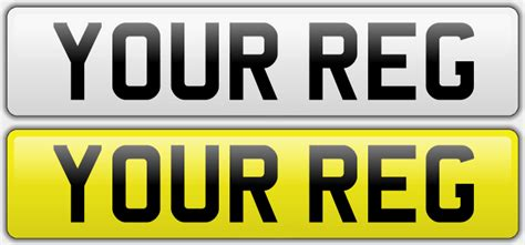 Make Your Own Number Plates