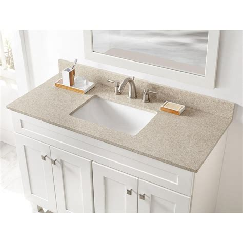 Sterling Bathroom Fixtures by Home Decorators Collection 49 In W X 22 In D Engineered