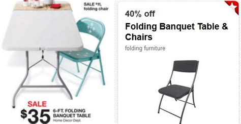 foot folding banquet table    target