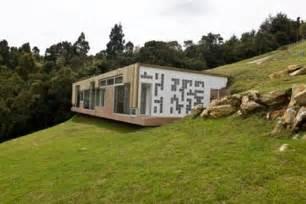 hillside home plans hillside home design with roof entrance modern house designs