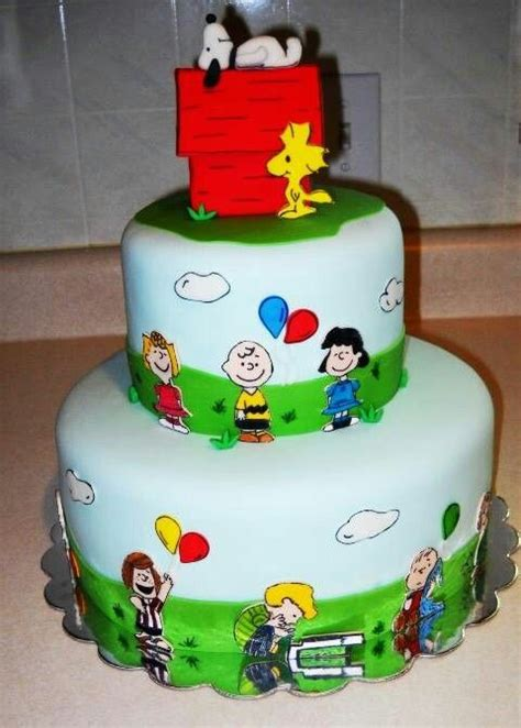 images  cakes  love snoopy  peanuts